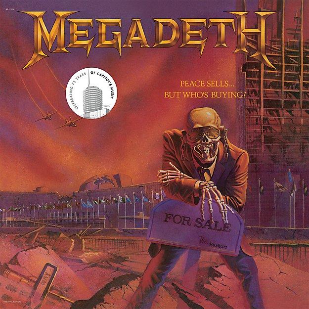"""Megadeth """"Peace Sells"""""""