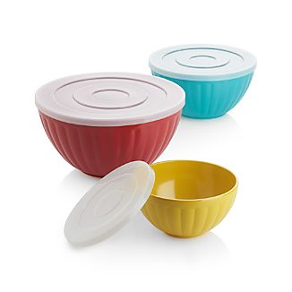 Set of 3 Prep & Store Bowls
