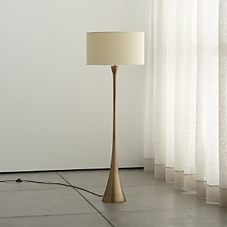 Top rated lighting crate and barrel for Clare brass floor lamp
