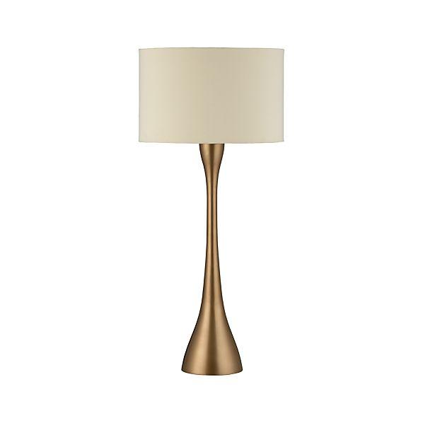 Melrose Brass Buffet Lamp