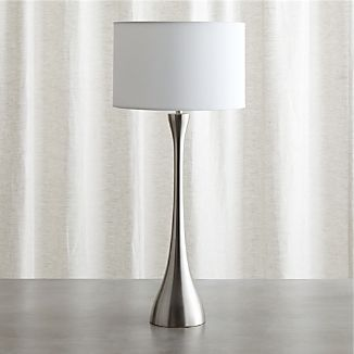 Melrose Nickel Buffet Lamp
