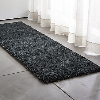 Memphis 2.5'x8' Steel Grey Rug Runner