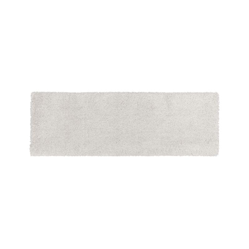 Memphis White 2.5'x8' Rug Runner