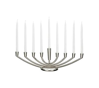 crate and barrel menorah