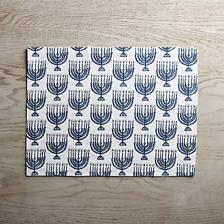 Menorah Placemat