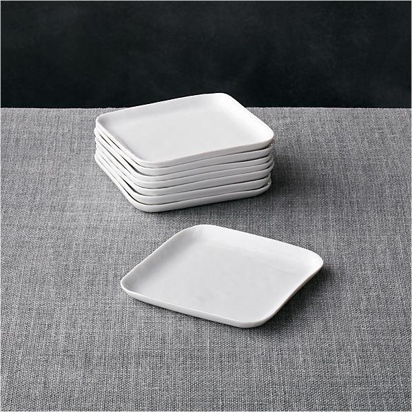 Set of 8 Mercer Square Appetizer Plates
