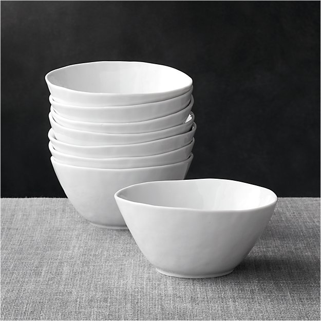 "Set of 8 Mercer 6.25"" Bowls"
