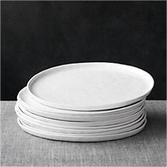 Set of 8 Mercer Dinner Plates