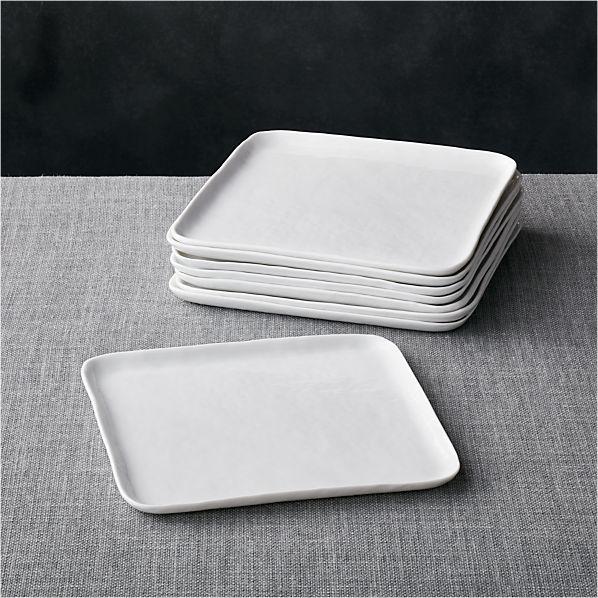 Set of 8 Mercer Square Salad Plates