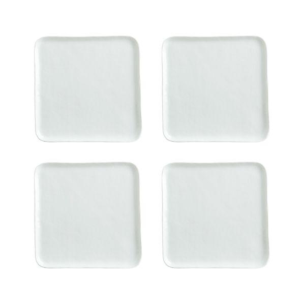 Set of 4 Mercer Square Salad Plates