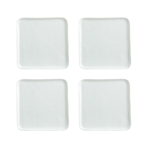 Set of 4 Mercer Square Salad Plates