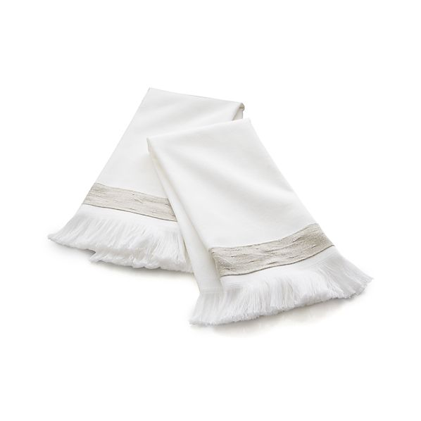 Set of two Meredith Guest Towels