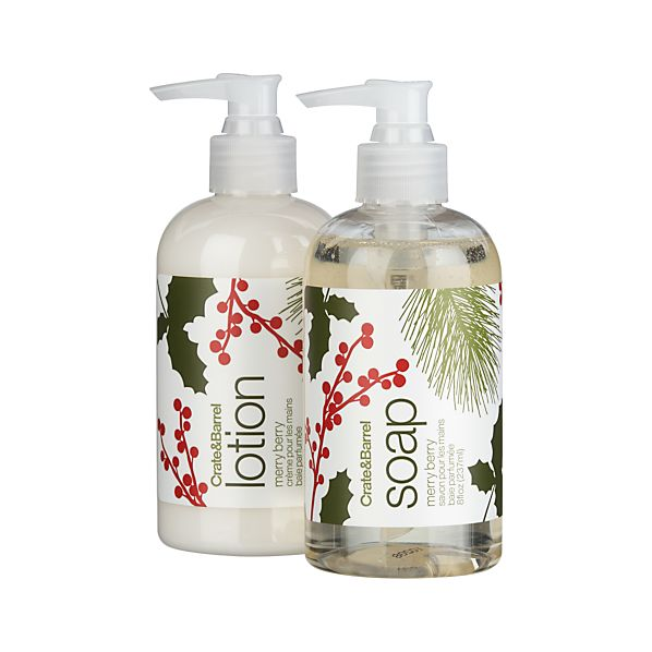 2-Piece Merry Berry Soap & Lotion Set