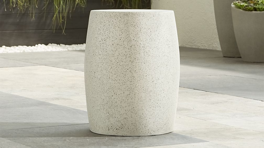 Mesa Side Table Stool Crate And Barrel