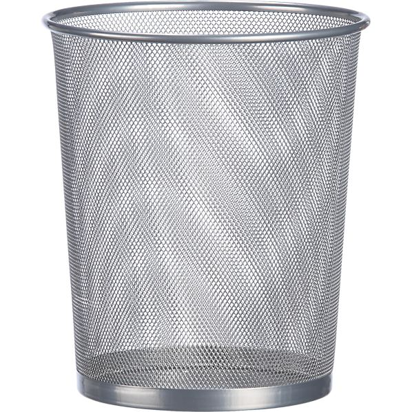 Mesh Round Trash Can
