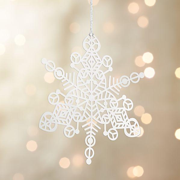 Silver Metal Snowflake
