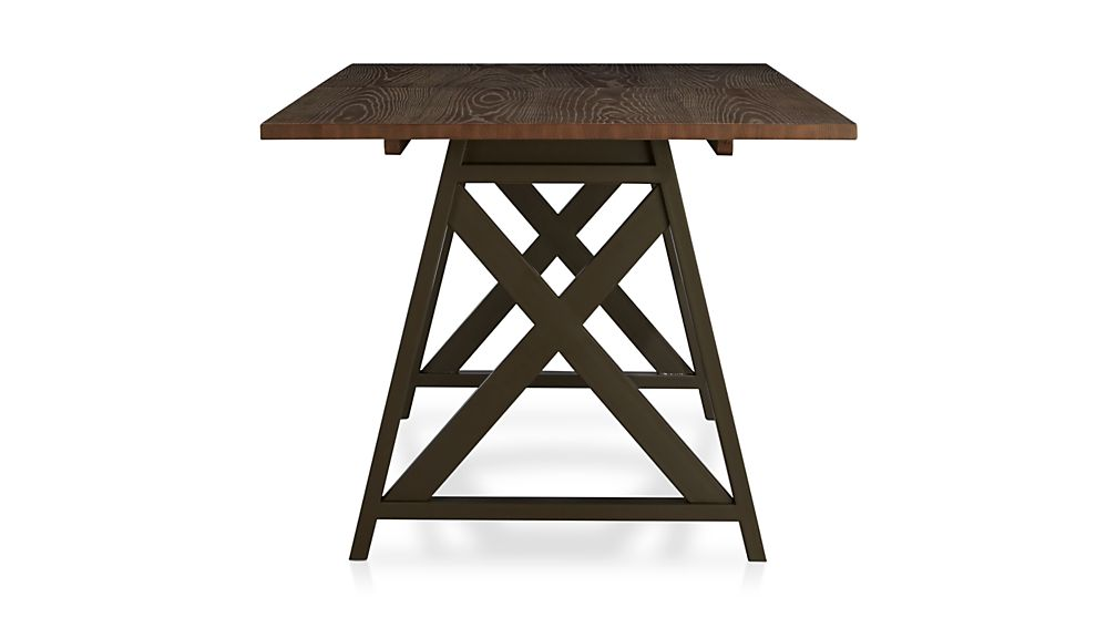 Metra Extension Dining Table Crate and Barrel : MetraExtDiningTableSdF13 from www.crateandbarrel.com size 1008 x 567 jpeg 30kB