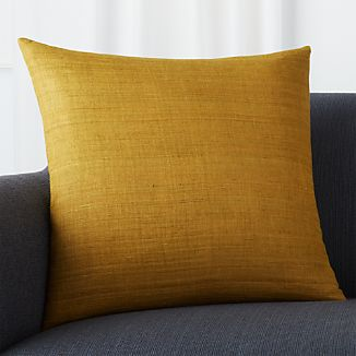 "Michaela Gold 20"" Pillow"