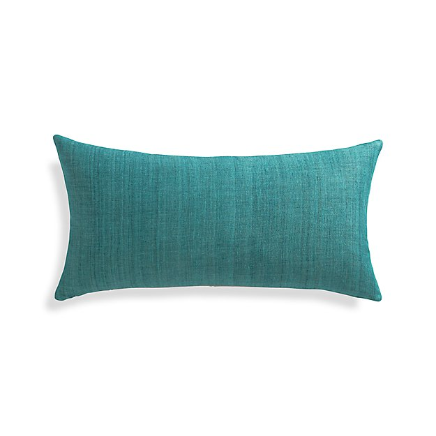 Down Alternative Decorative Pillows : Michaela Azure Blue 24