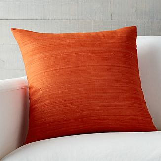 "Michaela Orange 20"" Pillow"