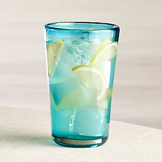 Miguel Blue Highball Glass
