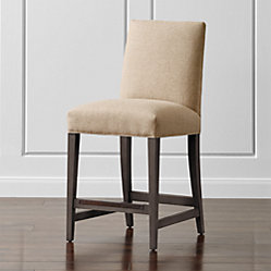 Miles Upholstered Dining Arm Chair Tobias Fennel Crate