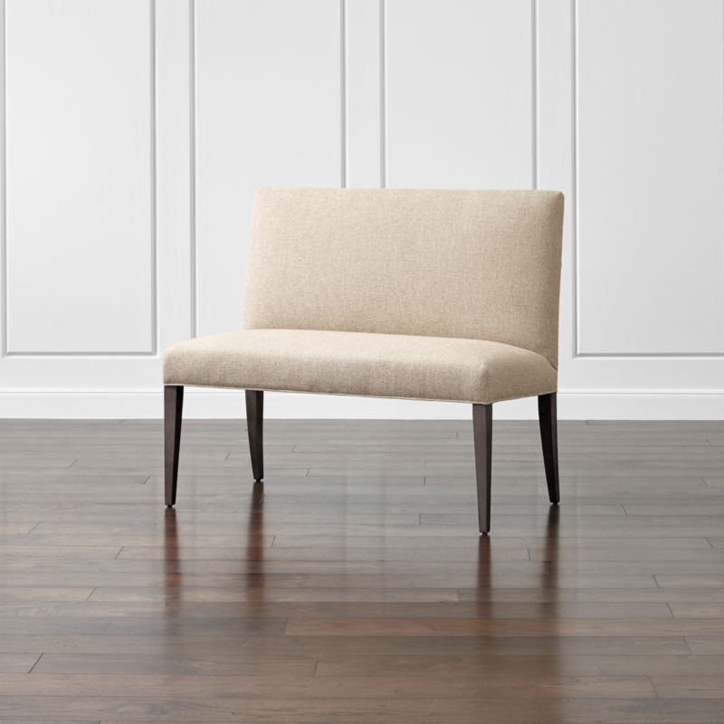 """Miles 42"""" Upholstered Small Dining Settee"""