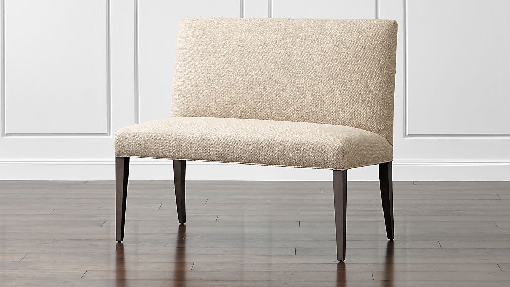 """Miles 42"""" Upholstered Small Dining Banquette Bench Tobias"""