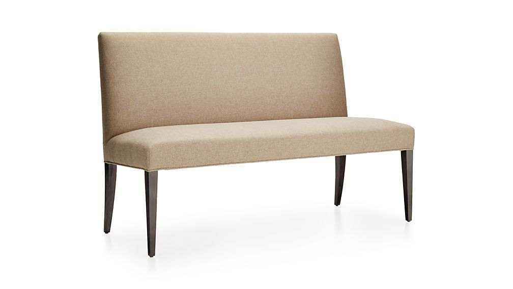"""Miles 58"""" Upholstered Dining Settee"""