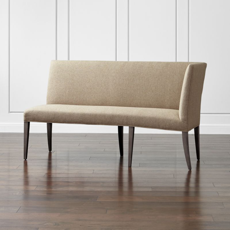 Miles Right Arm Banquette Bench