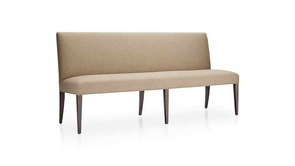 """Miles 76"""" Upholstered Grand Dining Banquette Bench Tobias"""