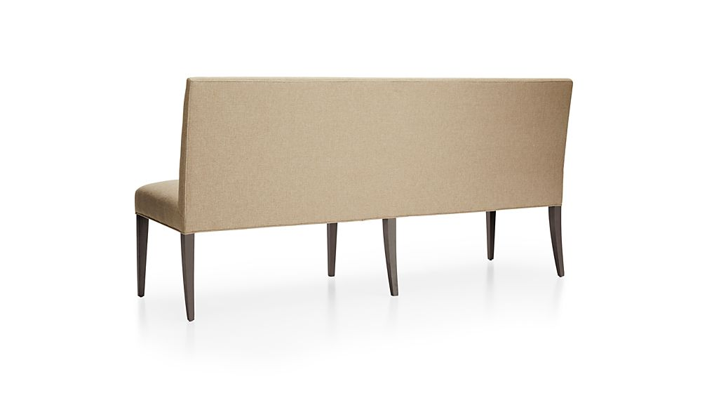 """Miles 76"""" Upholstered Grand Dining Banquette Bench"""