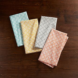 Set of 4 Millie Cloth Napkins