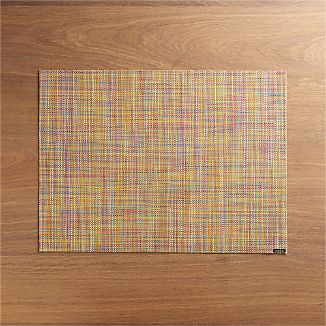 Chilewich ® Mini Basketweave Confetti Vinyl Placemat