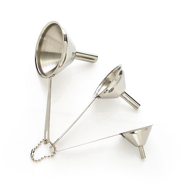 3-Piece Mini Funnel Set