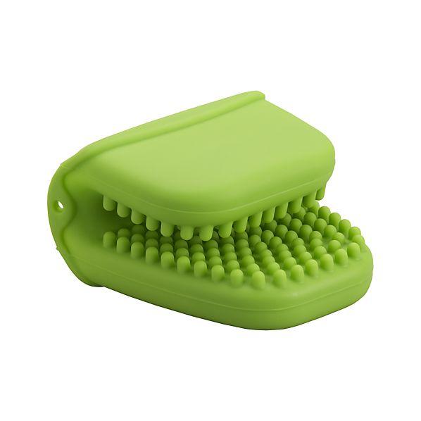 Silicone Green Mini Oven Mitt
