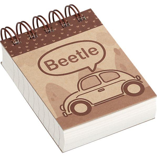 Beetle Mini Notebook