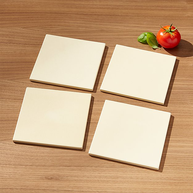 Mini Pizza Stones Set of Four