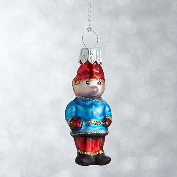 Mini Shapes Elf Ornament