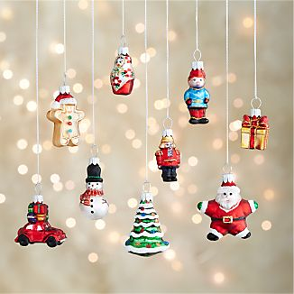 Mini Shapes Ornaments