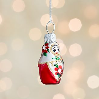 Mini Shapes Matryoshka Ornament