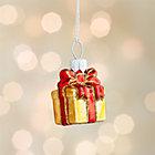 Mini Shapes Present Ornament.