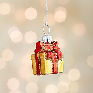 Mini Shapes Present Ornament