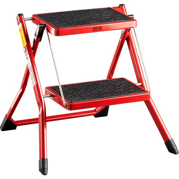 Mini Red Step Stool