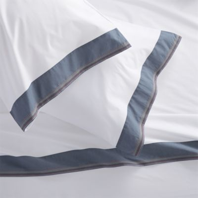 Miri Blue Queen Sheet Set