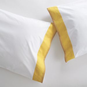 Miri Yellow King Pillowcases Set of Two