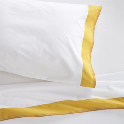 Miri Yellow Twin Sheet Set