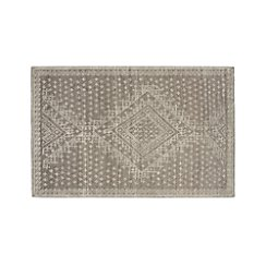 Mirren Grey Wool Oriental 6'x9' Rug