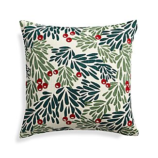 "Mistletoe 18"" Holiday Pillow"