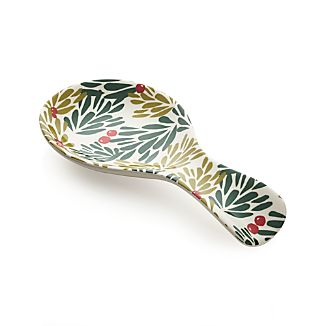 Mistletoe Spoon Rest
